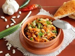 Фасоль тушеная с овощами: рецепты блюд с пошаговым фото