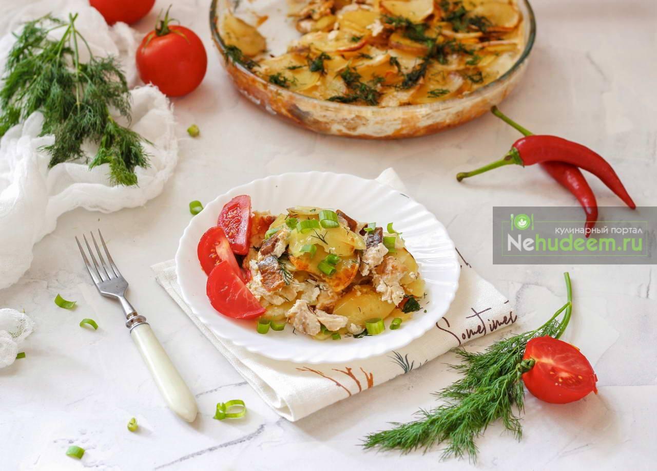 Калалаатикко – финская картофельная запеканка с сельдью