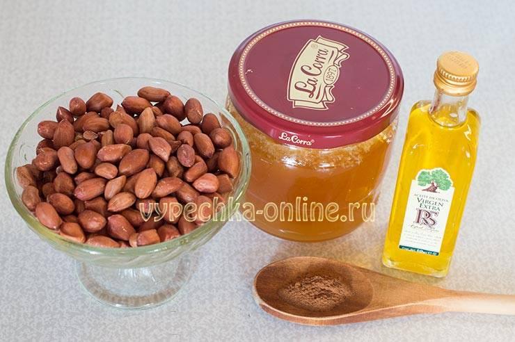 Паста арахисовая с медом