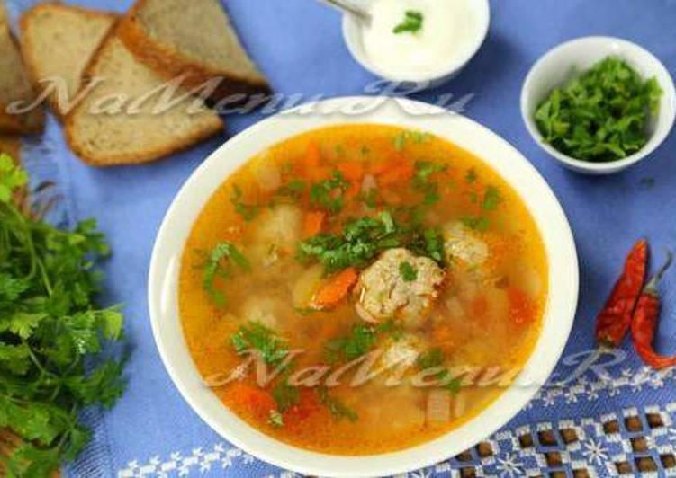 Суп с фрикадельками из фарша – самые простые и вкусные рецепты