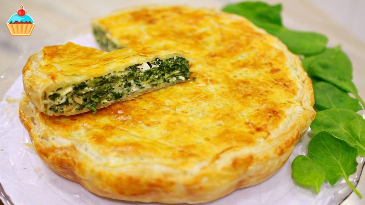 Пирог со шпинатом: 8 отличных рецептов |