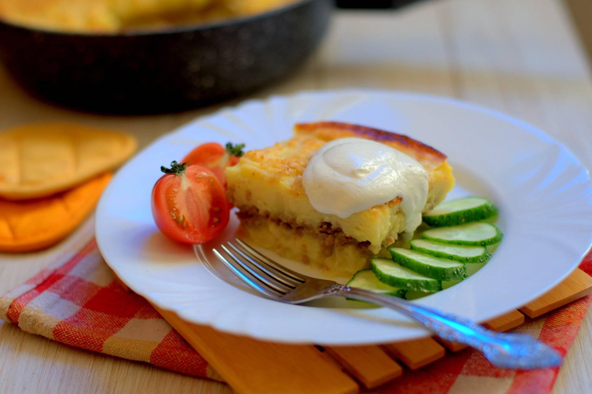 Необычная картофельная запеканка