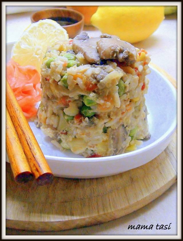 Говядина с грибами по-азиатски. рецепт с фото • кушать нет