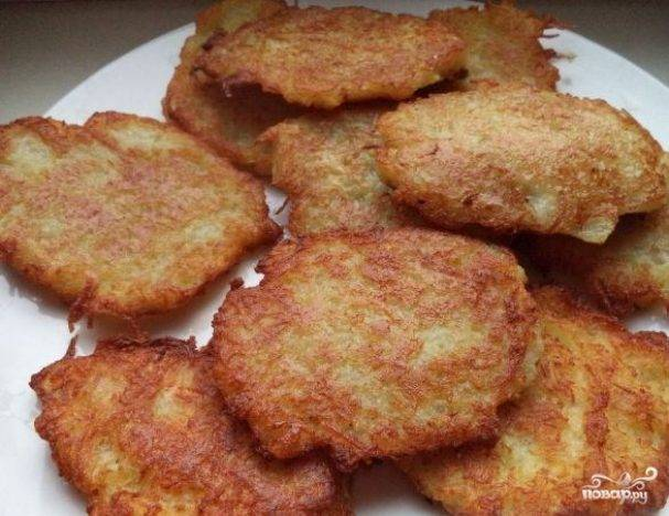 Драники картофельные постные рецепт с фото пошагово