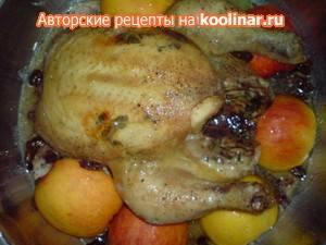 Куриные грудки под лимонно-тимьяновым соусом