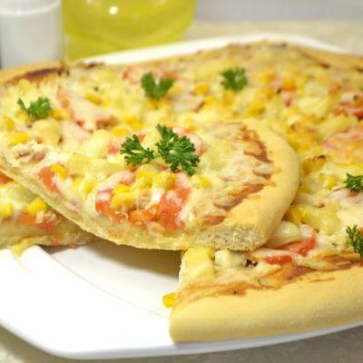Пошаговый рецепт приготовления гавайской пиццы