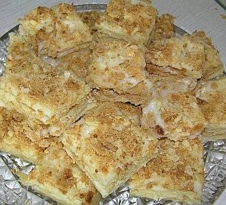 """Самый вкусный крем для """"наполеона"""" (плюс отличный рецепт коржей!) - статьи на повар.ру"""