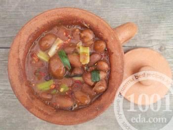Фасоль в горшочке - запись пользователя натаxa (natxa) в сообществе кулинарное сообщество в категории готовим в духовке (рукав, горшочки, в фольге..) - babyblog.ru