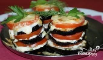 Баклажаны, жареные с помидорами - 17 пошаговых фото в рецепте