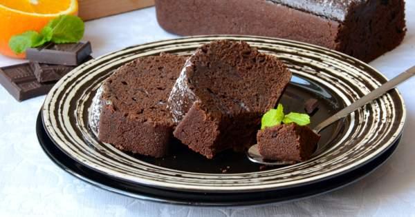 Шоколадный кекс без яиц и молока — профессиональный рецепт
