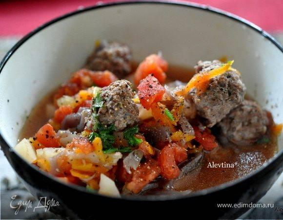 Суп с фрикадельками из говядины: пошаговый рецепт с фото — вкусно!
