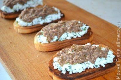 Брускетта с оливковой пастой простой домашний рецепт пошагово с фото