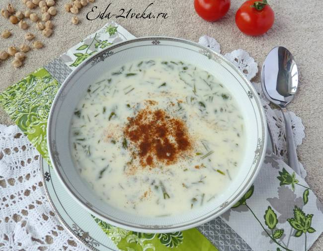 Довга - рецепт. азербайджанская кухня
