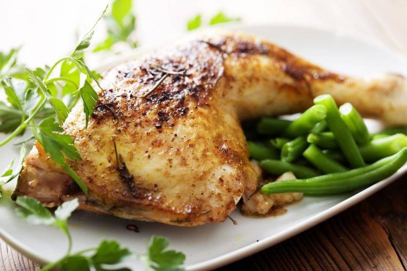 Курочка с хрустящей корочкой в духовке - пошаговый рецепт с фото на повар.ру