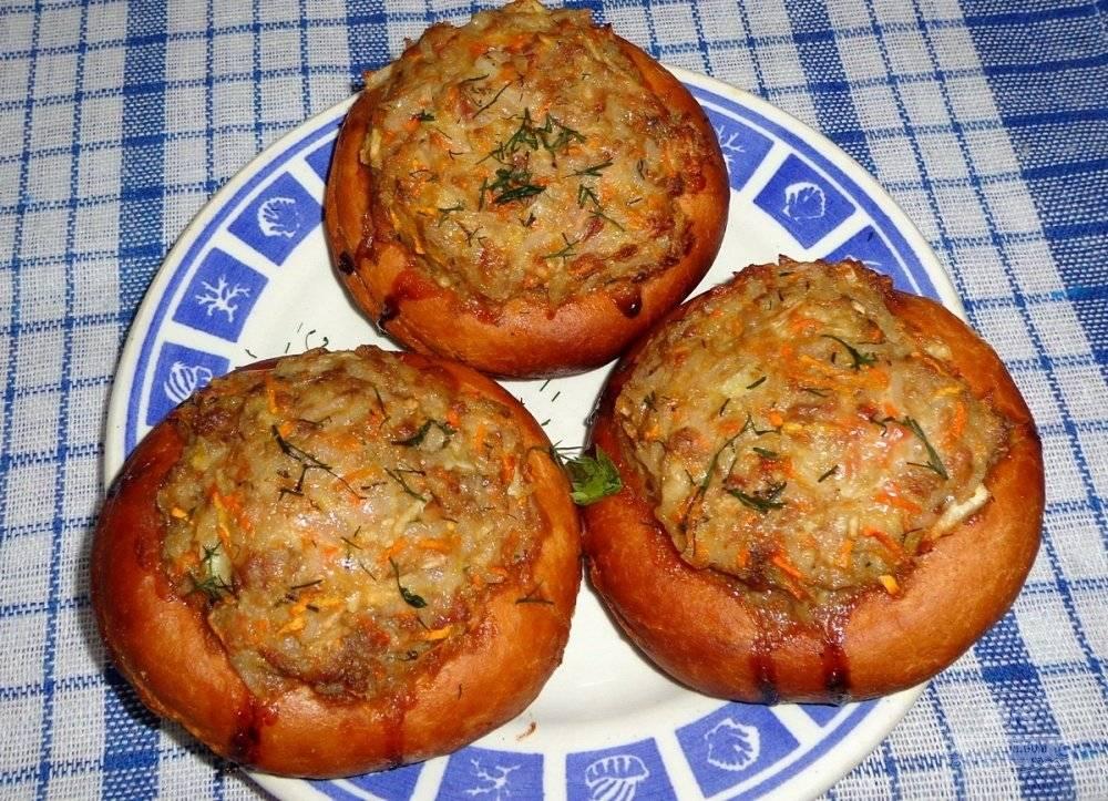 Как приготовить бублики с куриным фаршем под сыром? пошаговый рецепт с фото