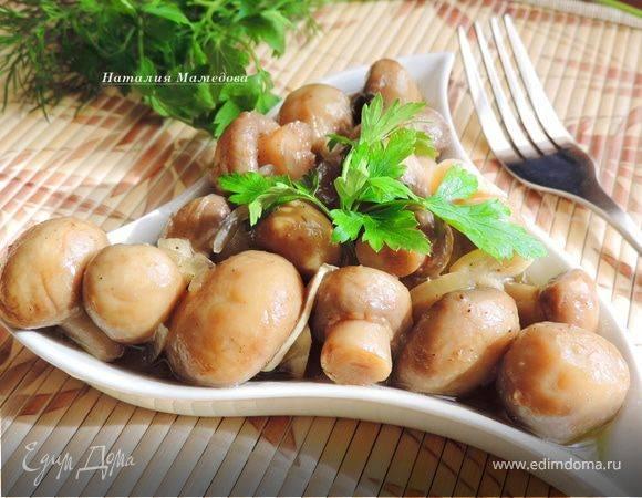 Закуски из грибов