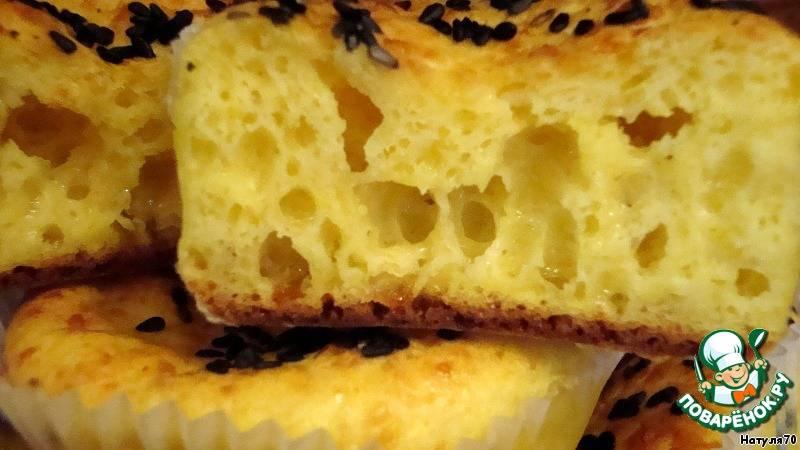 Очень вкусные кексы на сметане — выпекаем в силиконовых формочках