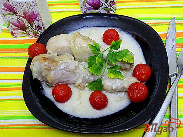 Рецепты вкусных куриных ножек с шампиньонами