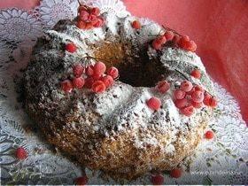 Пирог с калиной - простой татарский рецепт, из дрожжевого, песочного теста и с яблоками