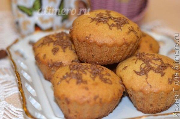 Манные кексы в шоколадной глазури - 15 пошаговых фото в рецепте