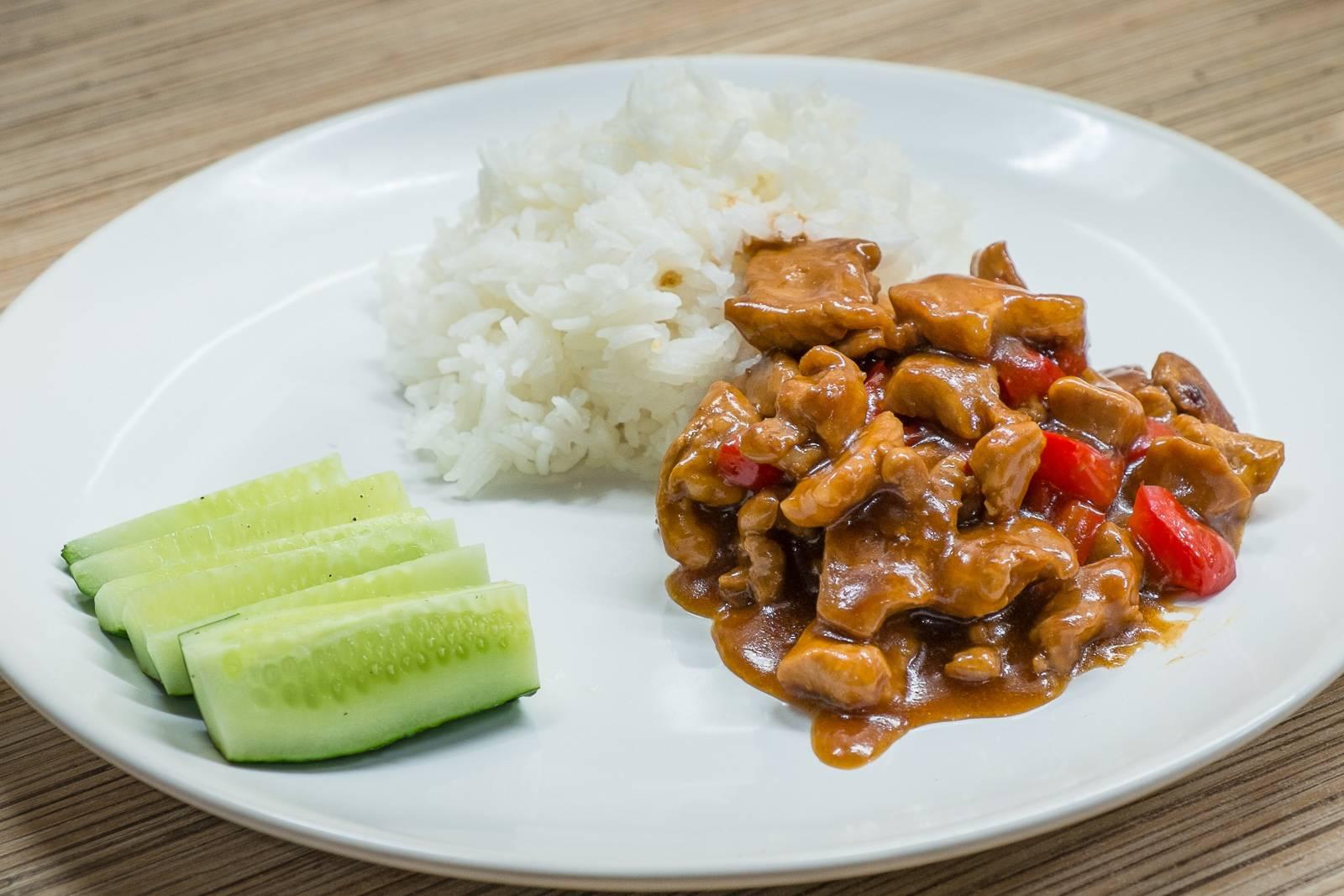 Куриное филе в кисло-сладком соусе по-китайски • кушать нет