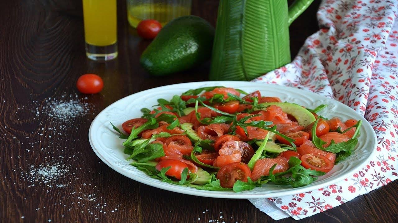 Быстрый салат из авокадо и грейпфрута - вкуснее не бывает