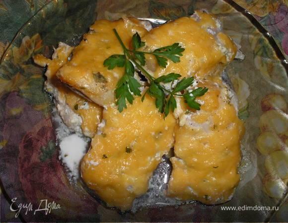 Картофель с пангасиусом