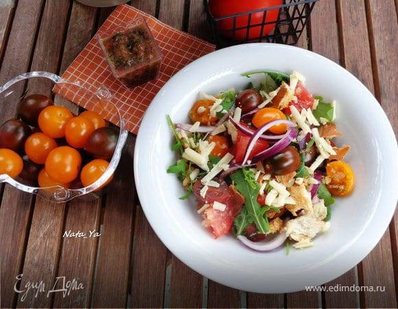 Салат панцанелла - рецепт с фотографиями - patee. рецепты
