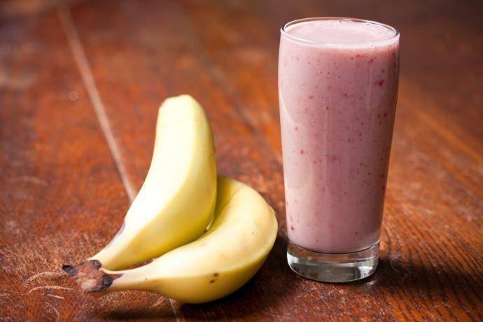 Вкусный банановый коктейль для тех, кто хочет похудеть