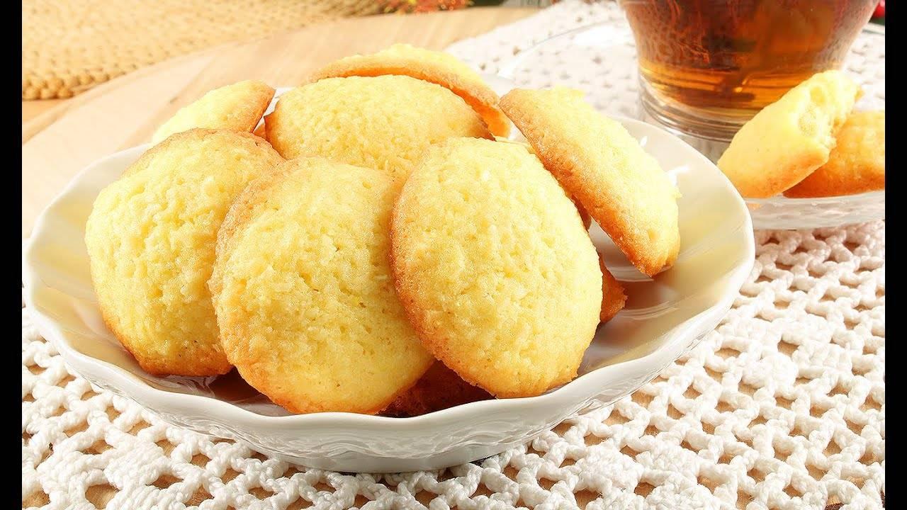 Постное кокосовое печенье