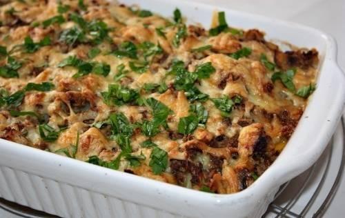 Картофельная запеканка с грибами в духовке - 5 рецептов с фото пошагово