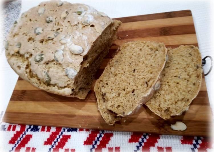Домашний хлеб с тыквой