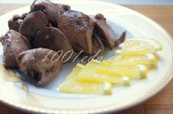 Сочная куриная печень за 10 минут