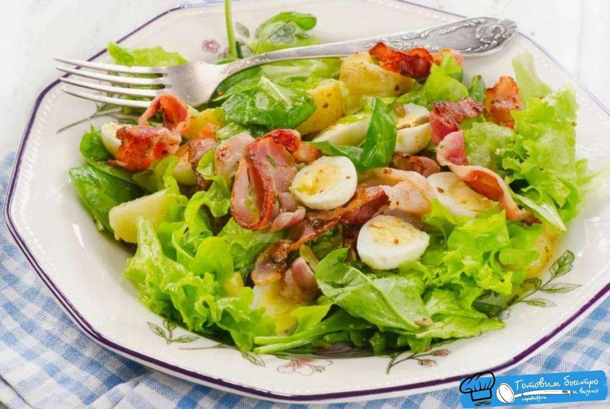 Картофельный салат — 15 вкусных рецептов приготовления!