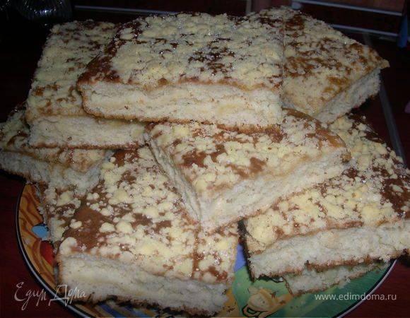"""Сливово-ореховый пирог """"pflaumen-nuss-kuchen"""""""