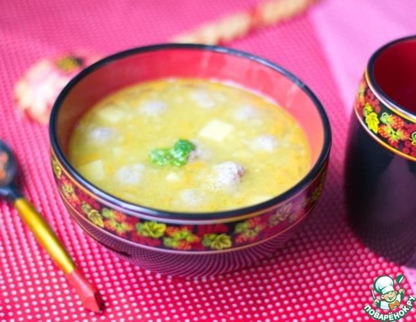 Как сварить суп с фрикадельками в мультиварке по пошаговому рецепту с фото