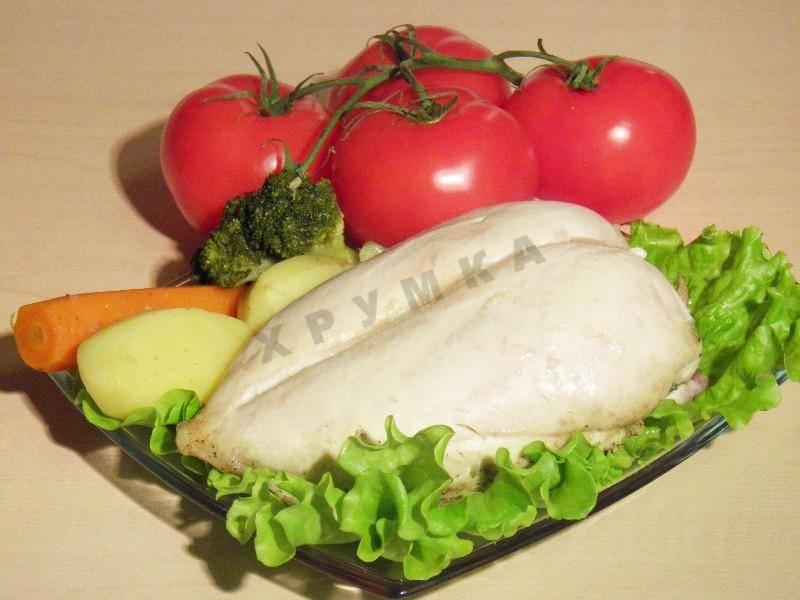 Куриное филе на пару в мультиварке - 7 пошаговых фото в рецепте