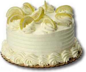 """Торт """"лимонный восторг"""""""