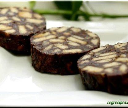 Шоколадная колбаса