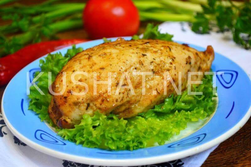 Рецепт приготовления куриного филе в фольге