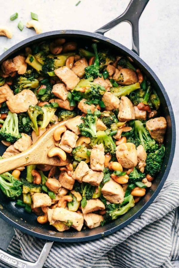 Куриные бедрышки с рисом на сковороде