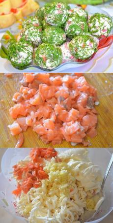 Хрустящие рыбные шарики с сыром