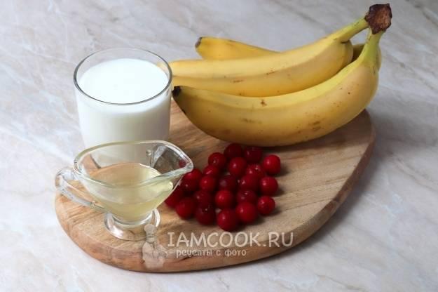 Банановый смузи рецепт вкусного смузи с бананом