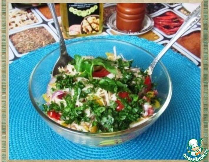 Быстрые салаты за 5 минут на каждый день