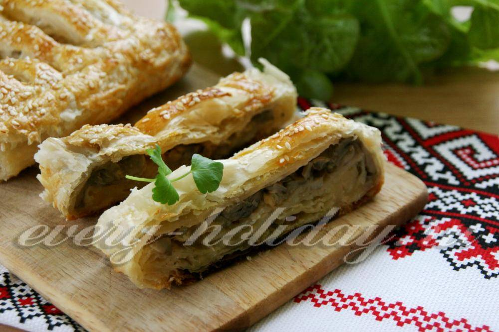 Бурек по-турецки с мясом