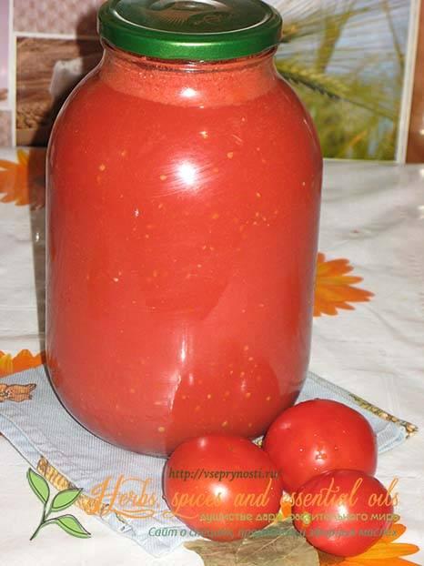 Как сделать томатный сок разными способами и на зиму?