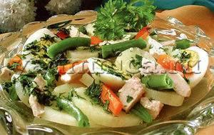 Курино-ананасовый салат