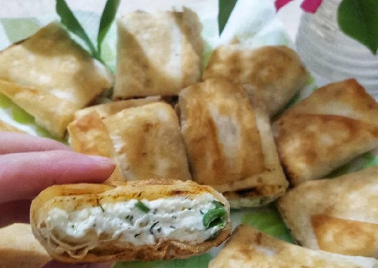 Творожная закуска: пошаговый рецепт с фото
