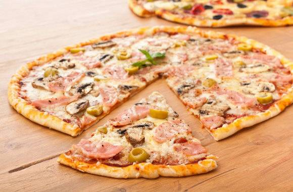 Пицца на пшенично-ржаном тесте: рецепт с фото пошагово