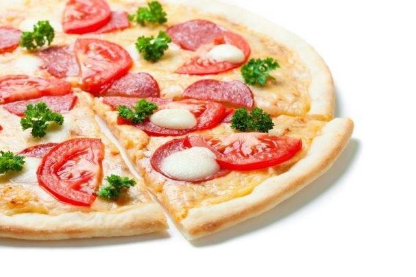 Как приготовить итальянскую пиццу с моцареллой